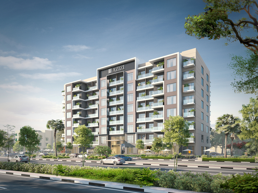 Azizi Developments' Berton project.