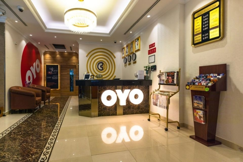 Oyo Rooms is an Indian firm [representational].