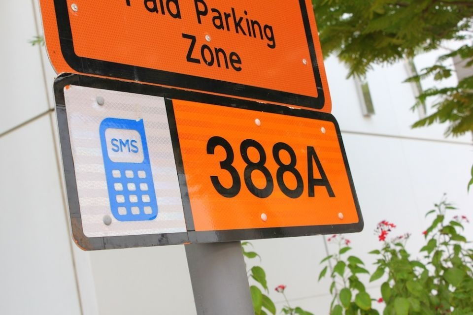 RTA operates parking services in Dubai.