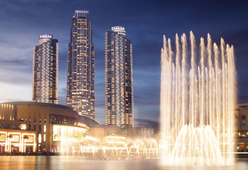 Emaar's Address Fountain View hotel in Dubai.