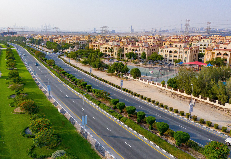 Dubai Investments Park has invested in road infra.