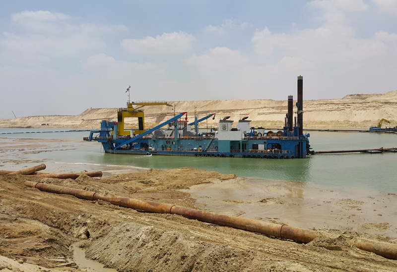 Bahrain is studying dredging impacts [representational].