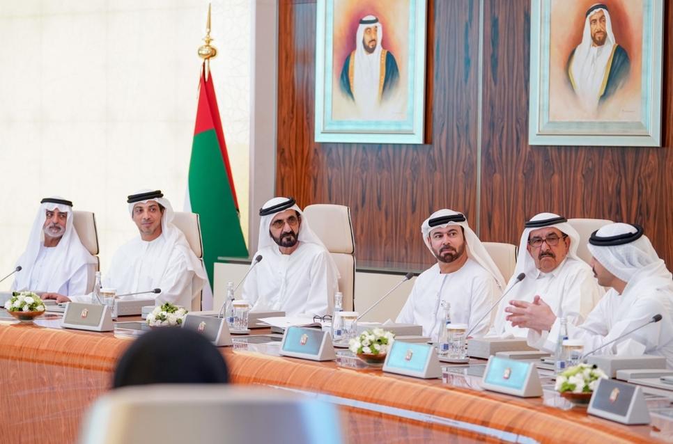 The UAE Cabinet met on 1 September, 2019.
