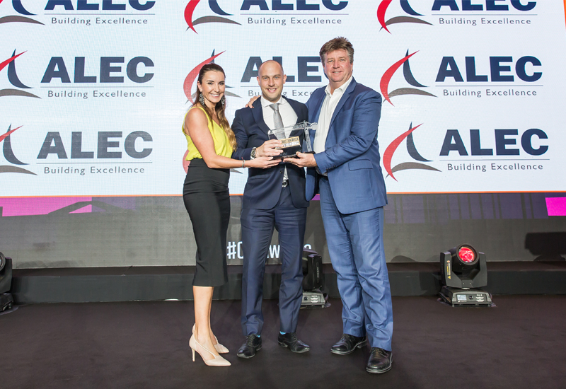The Construction Week Awards 2018 were also held in Dubai