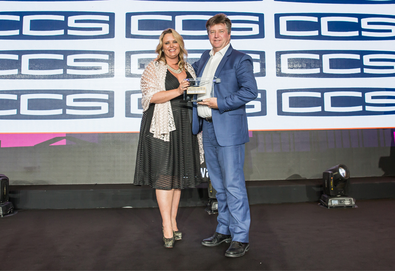 CCS has been named as Category Sponor for the 2019 CW Awards in Dubai