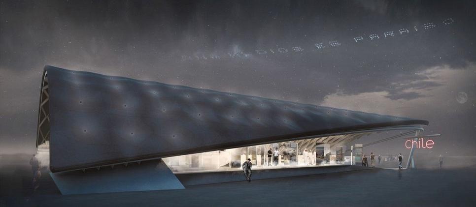 Expo 2020 Dubai's Chile Pavilion.