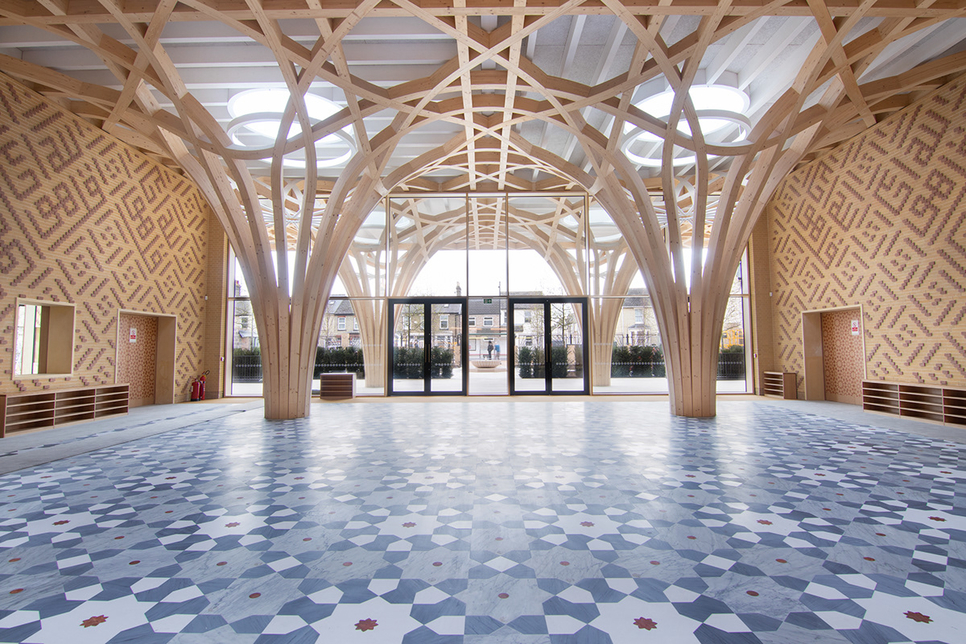 Europe's first eco-friendly mosque, Cambridge Mosque.