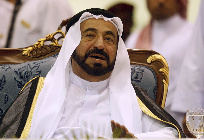 HH Dr Sheikh Sultan bin Muhammad Al Qasimi, Member of the Supreme Council and Ruler of Sharjah.