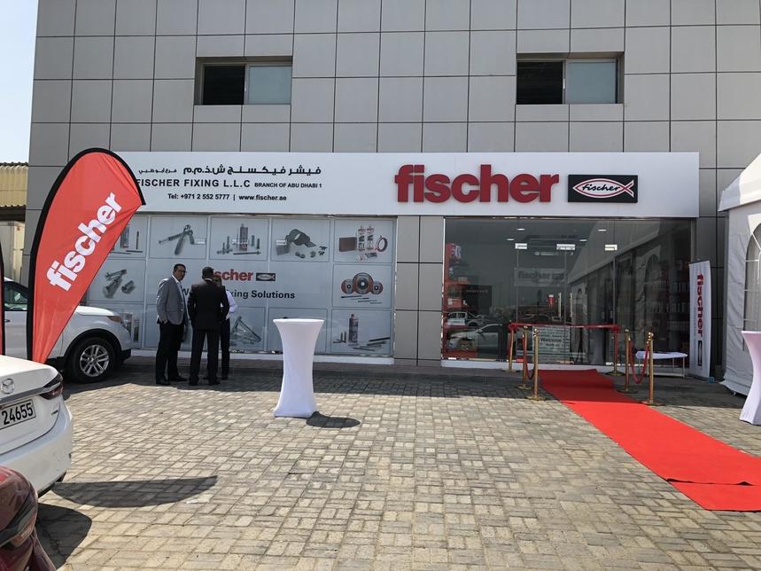 Fischer MEA's centre in Abu Dhabi.