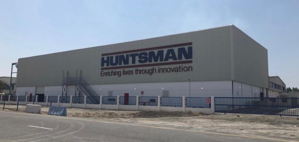 Huntsman Corporation's facility in Jafza, Dubai.