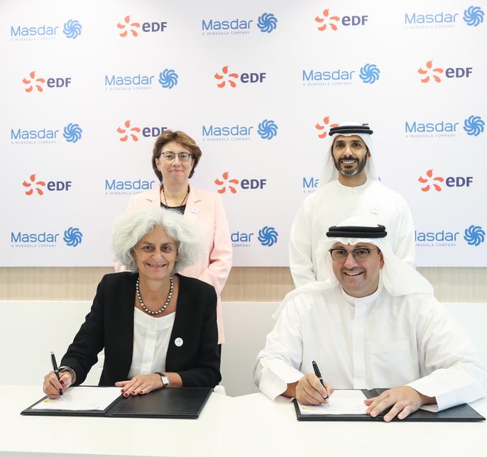 Masdar and EDF have formed the Esco.