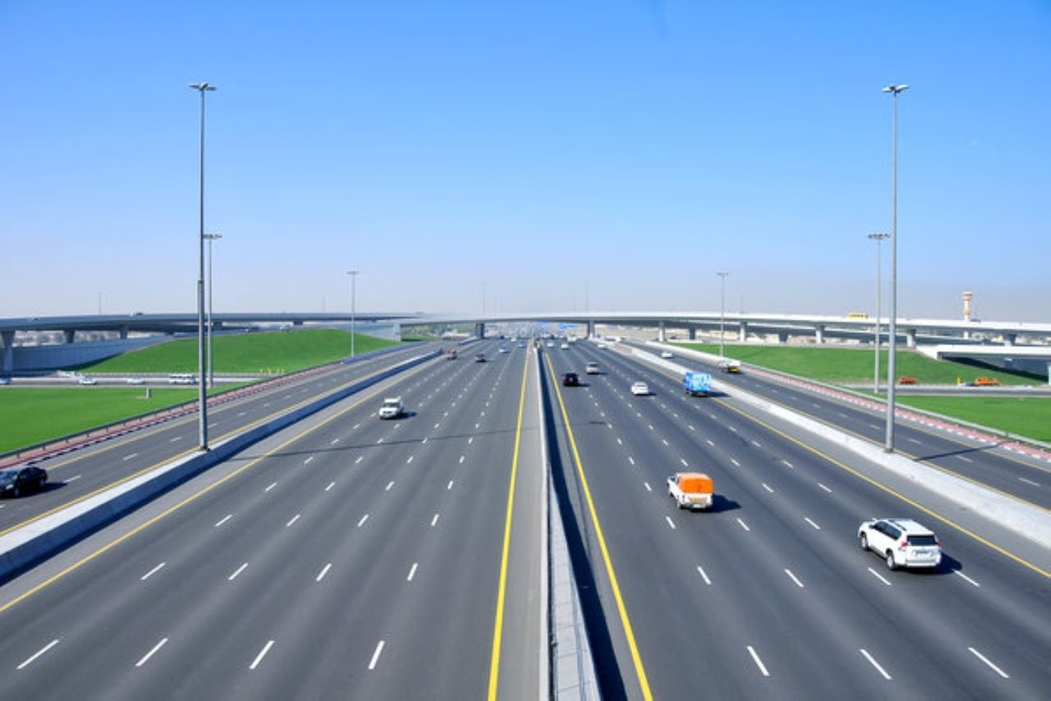 Sharjah and Ajman road projects are progressing.