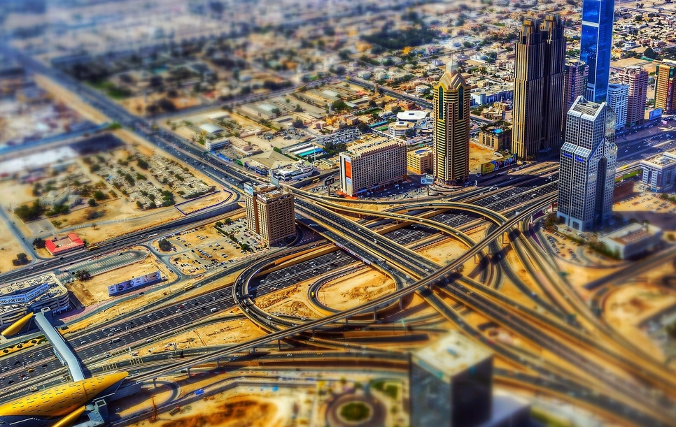 Economic growth is being reported in Dubai.
