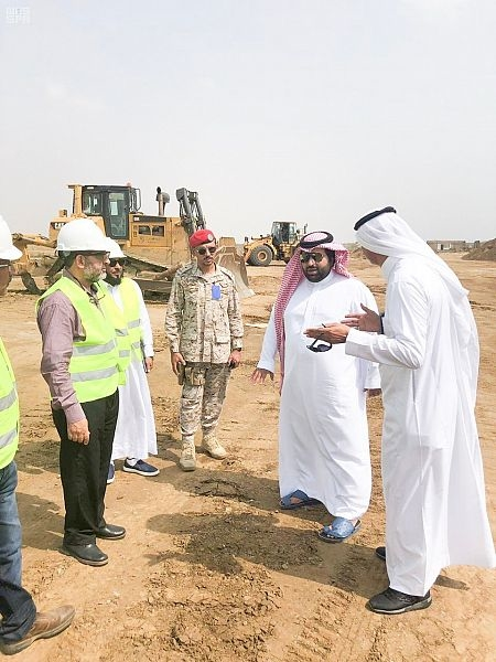 HRH Prince Mohammed reviewed the GIZ expansion.