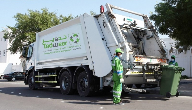 Tadweer conducts waste management in Abu Dhabi.