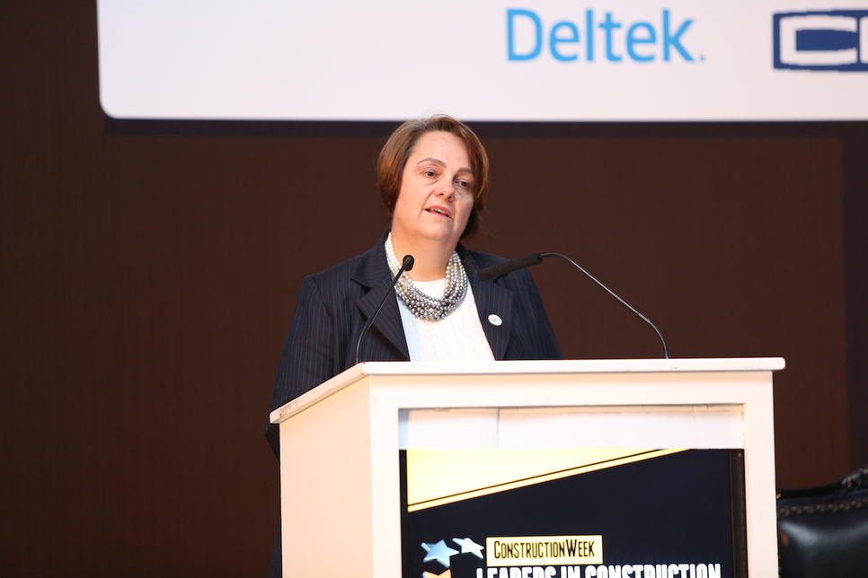Deloitte ME's Cynthia Corby at Leaders UAE 2019.