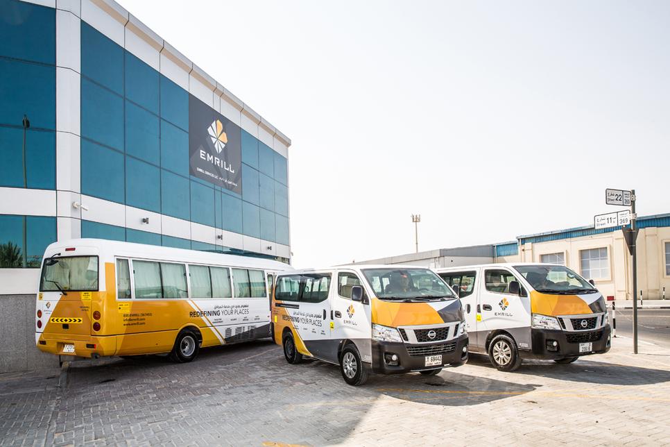 Hertz will manage Emrill's 127 vehicles.