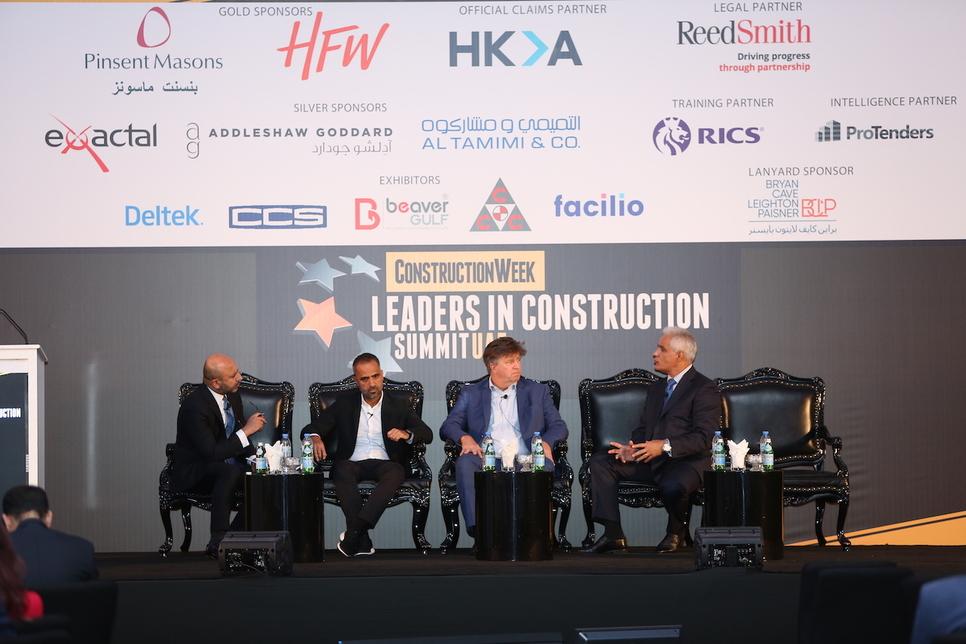 L-R: Kerur, Mrad, Taylor, and Christofides at Leaders UAE 2019.