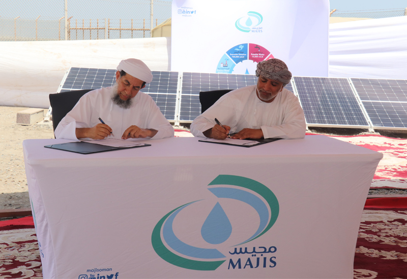 The solar plant is set to be operational by the end of 2020.