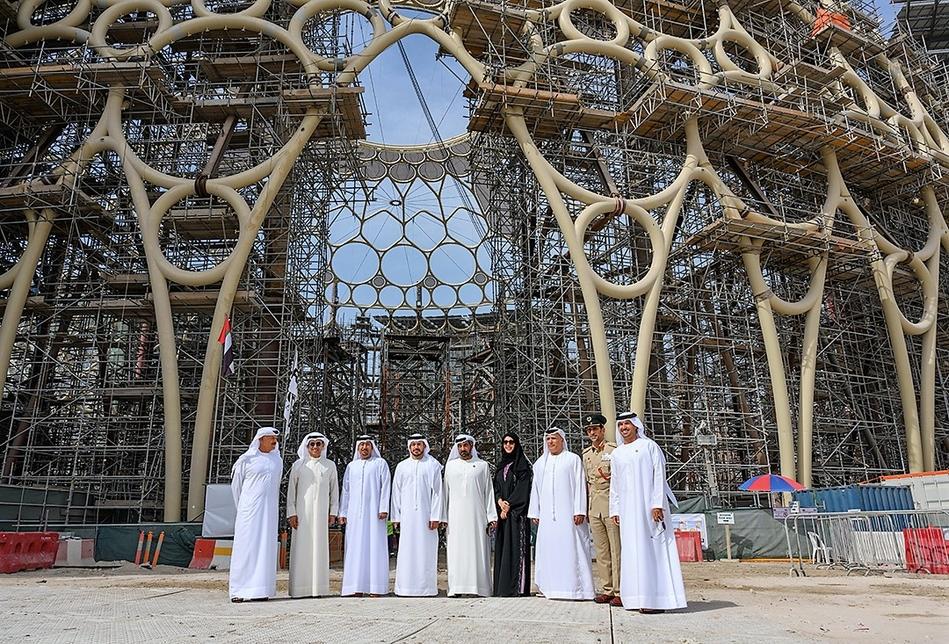 Expo 2020 Dubai has progressed with Al Wasl Plaza.