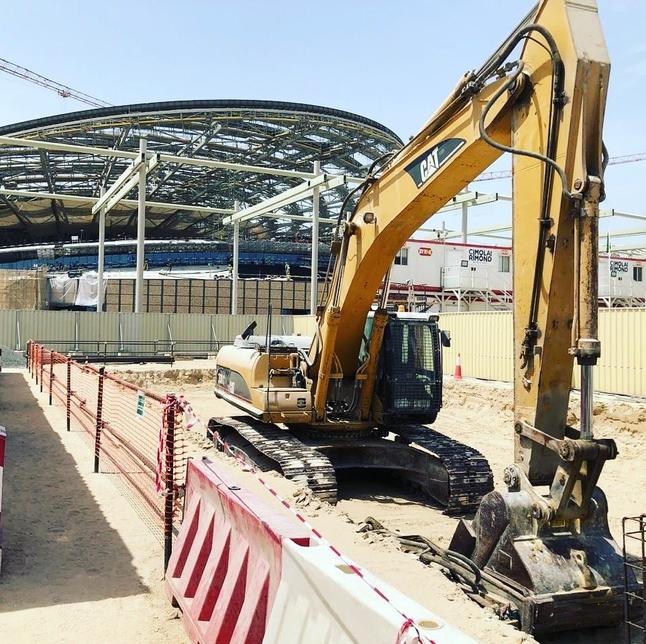 Expo 2020 Dubai's Netherlands Pavilion site.