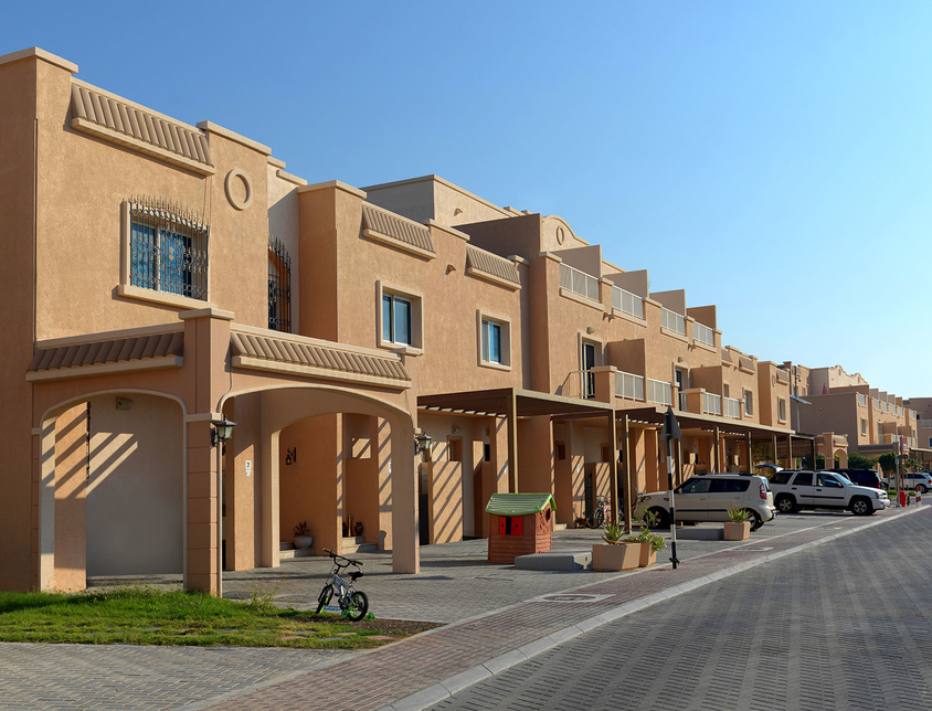 The developer is part of the Al Reef project.