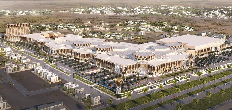 Al Raimi Walk Mall will open in 2020.