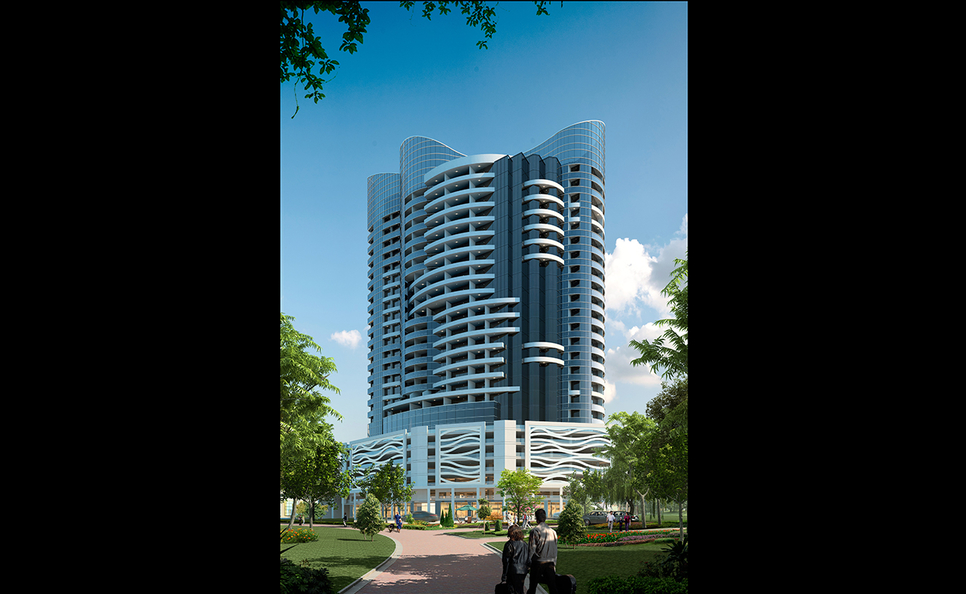 Tiger Properties' Blue Wave Tower