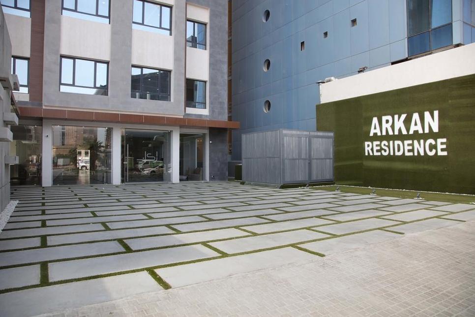Arkan Residence is developed by Arkan Al-Kuwait.