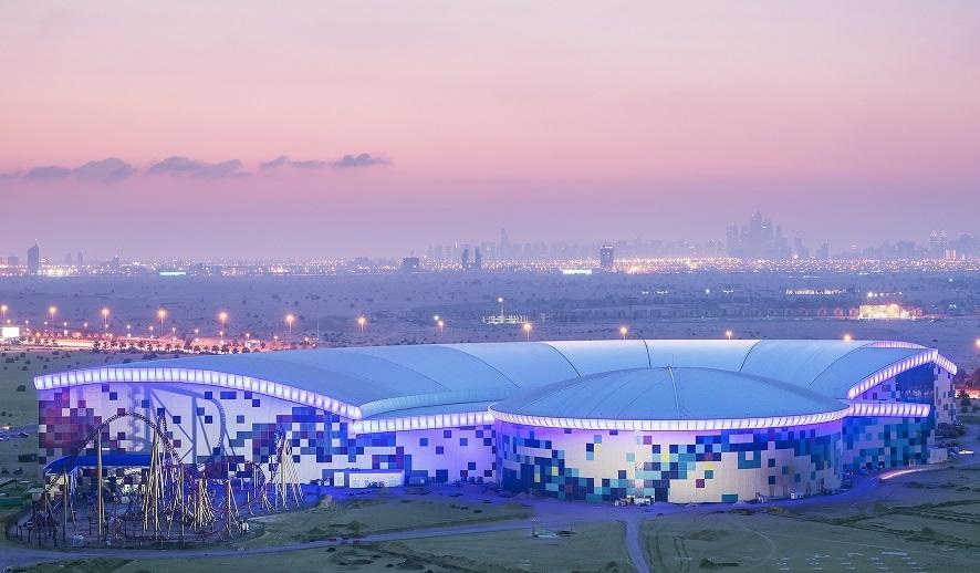 Dubai's IMG Worlds of Adventure theme park.