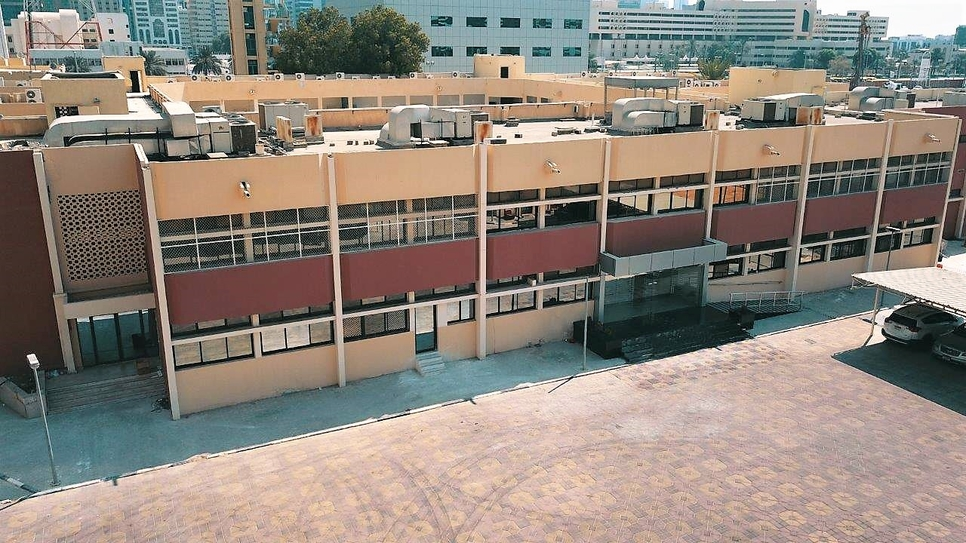 Musanada's facility management division renovated Abu Dhabi's Al Yarmouk School.