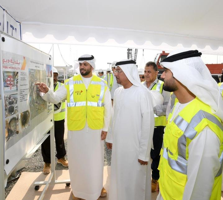 Dubai's deep tunnel project will open in 2020.