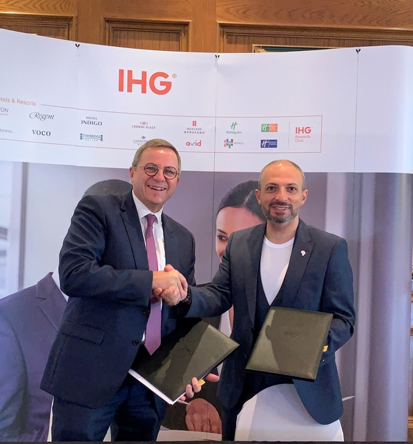 IHG plans to expand its portfolio of hotels in Africa.