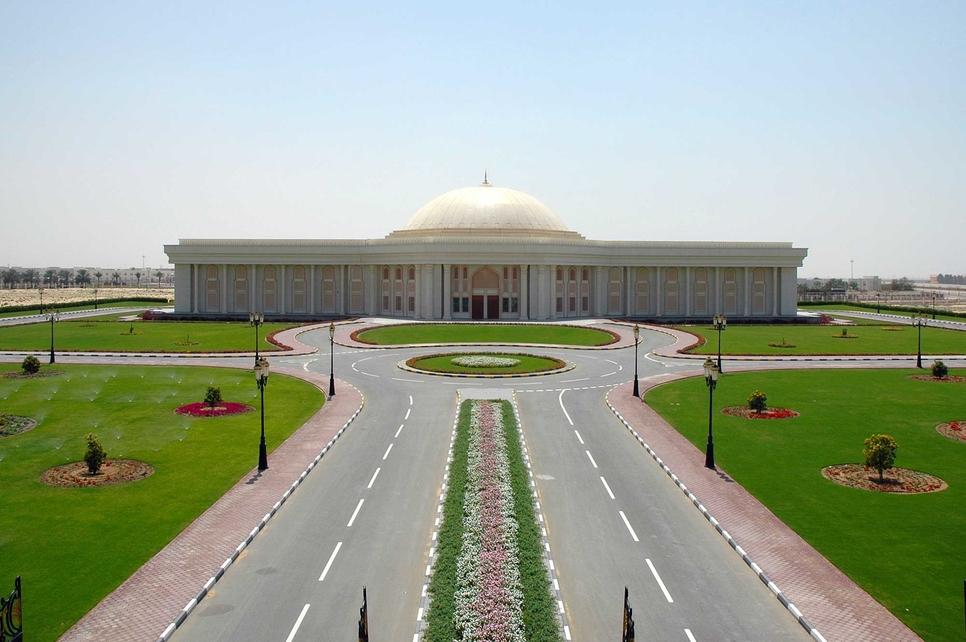 Sharjah University City [representational].