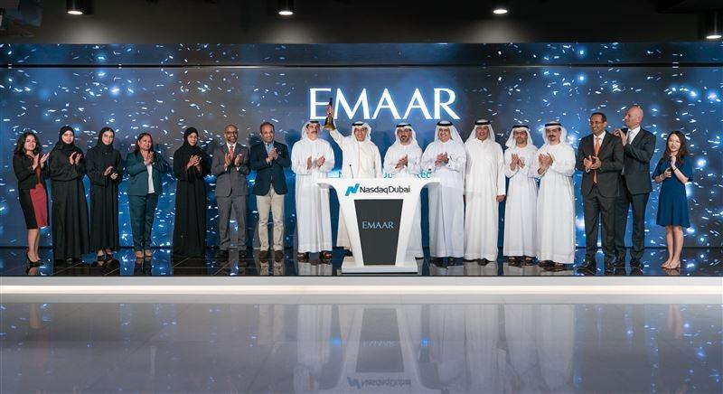 Emaar has listed a $500m sukuk on Nasdaq Dubai.