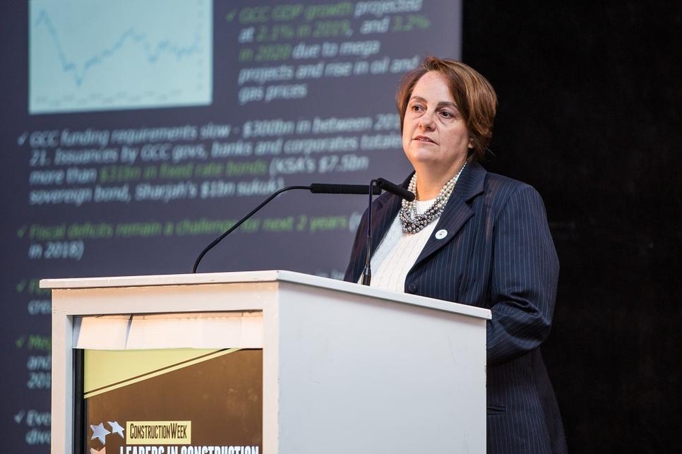 Deloitte's Cynthia Corby at Leaders UAE 2019.