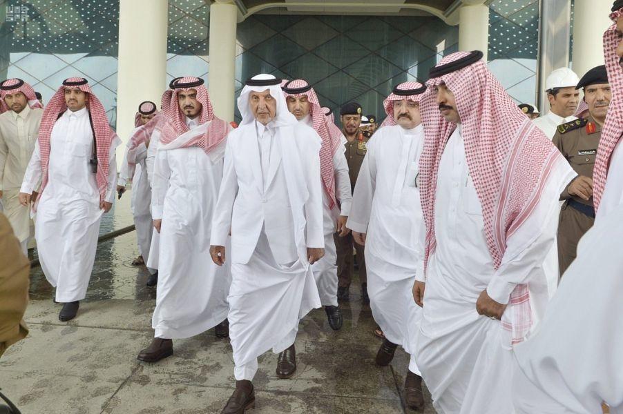 The Makkah governor inspects Haramain Rail's Jeddah Station.