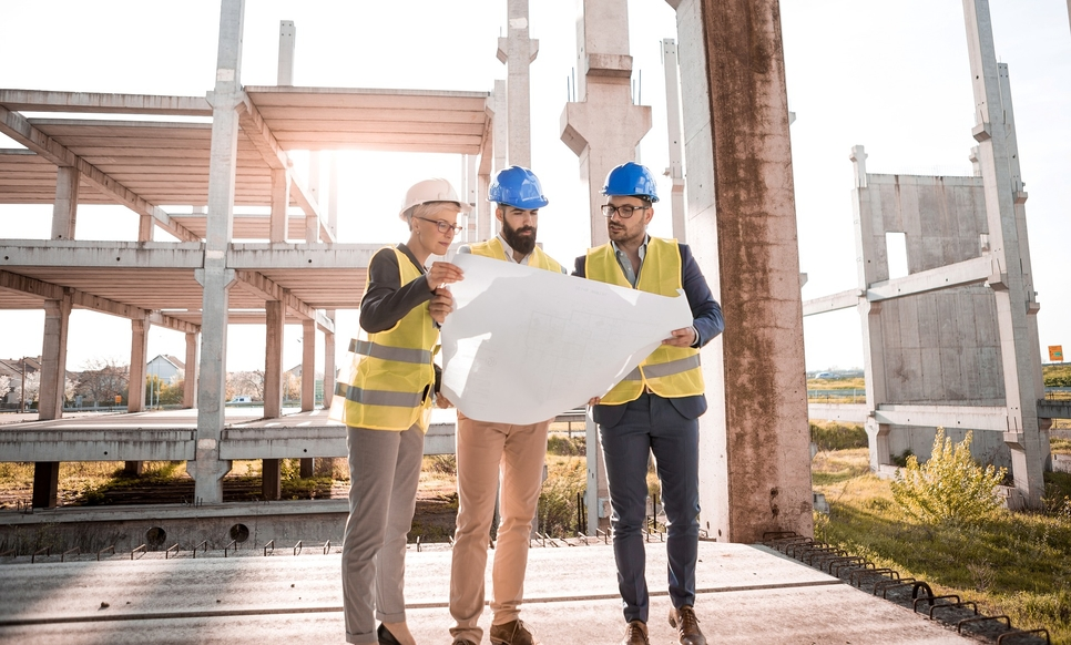 Smart construction is gaining traction.