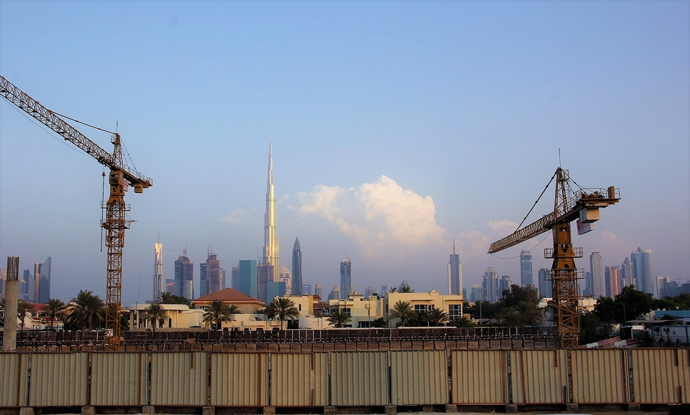 The UAE remains a key market for construction jobs.