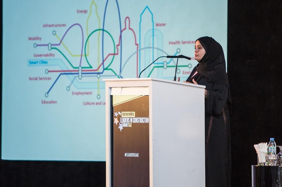 Eng Anwaar Al Shimmari at Leaders UAE 2019.