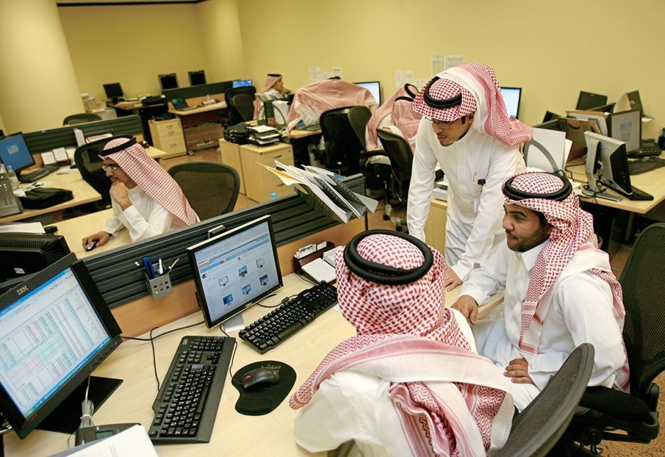 Saudisation is a national priority [representational].