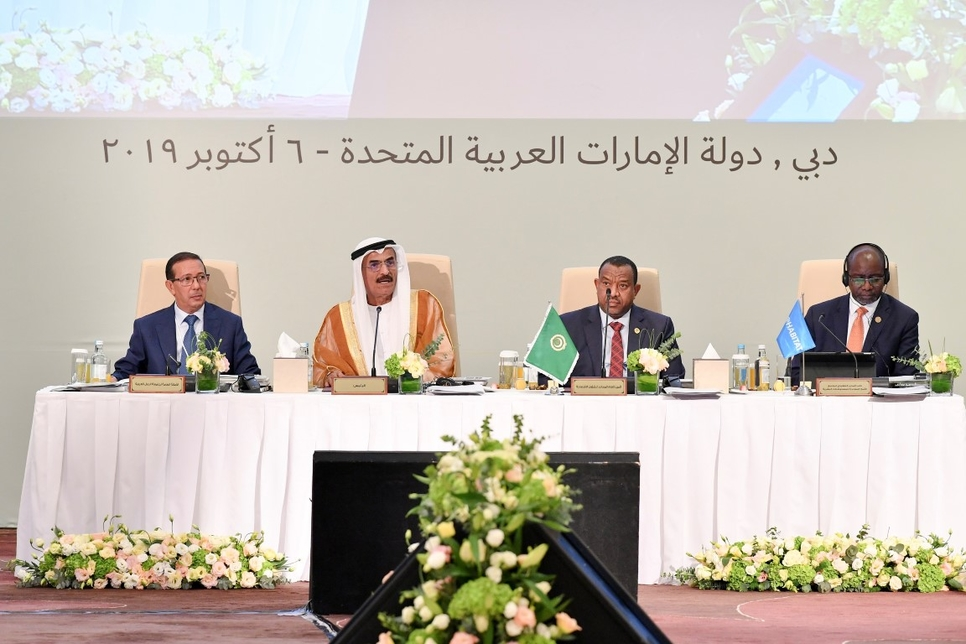 The 36th Arab Ministerial Council for Housing and Construction.