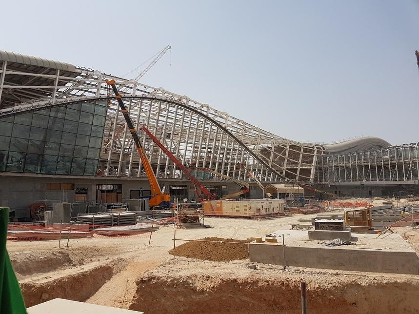 UPG is working on the Midfield Terminal Building (MTB) in Abu Dhabi.