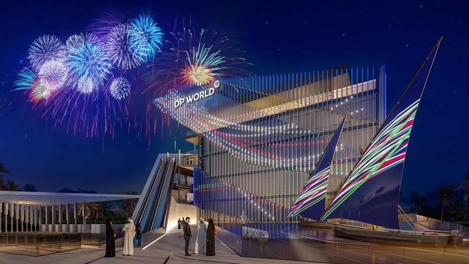 DP World's Expo 2020 Dubai Pavilion.
