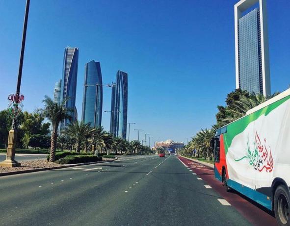 ITC operates public transport in Abu Dhabi.