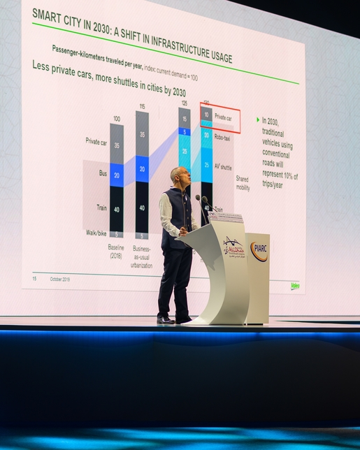 World Road Congress 2019 is being held in Abu Dhabi.