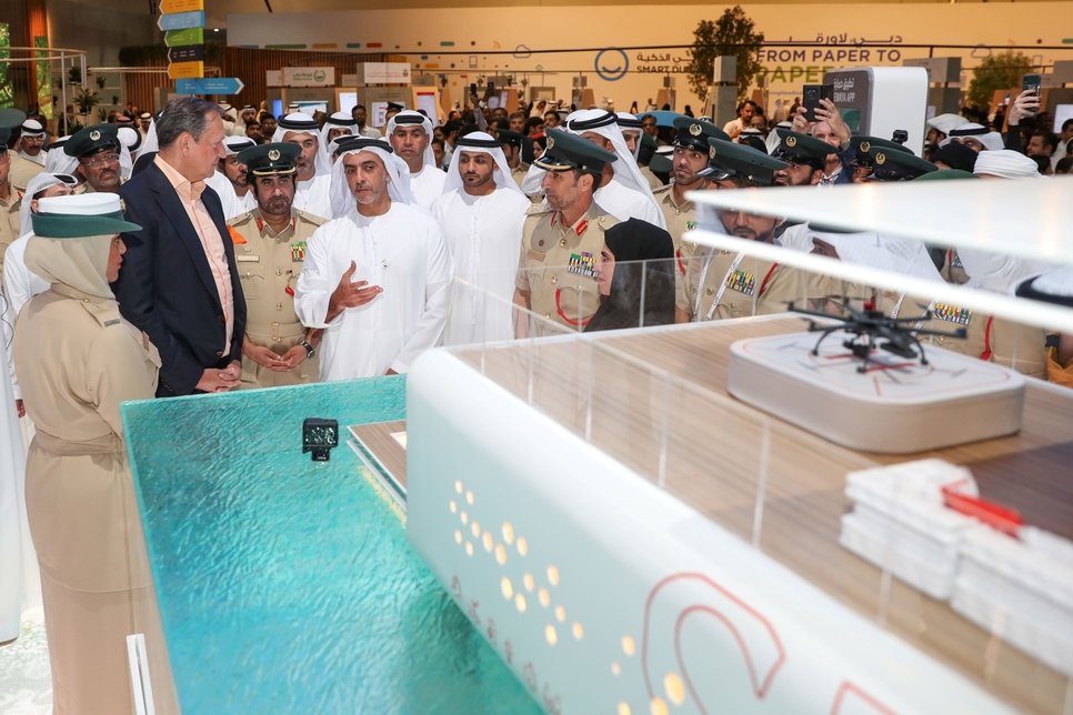 The project was launched by HH Lt Gen Sheikh Saif bin Zayed Al Nahyan.