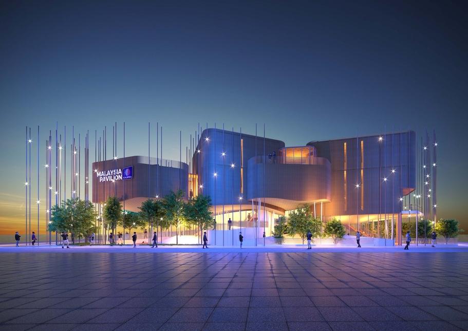 Expo 2020 Dubai's Malaysia Pavilion.