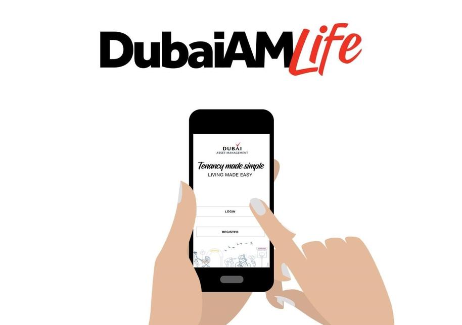 Dubai Asset Management's corporate housing app.