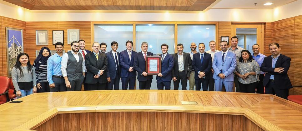 ECC receives BSI's BIM ISO certification.